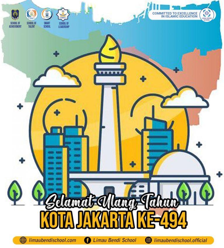 494 Tahun Kota Jakarta