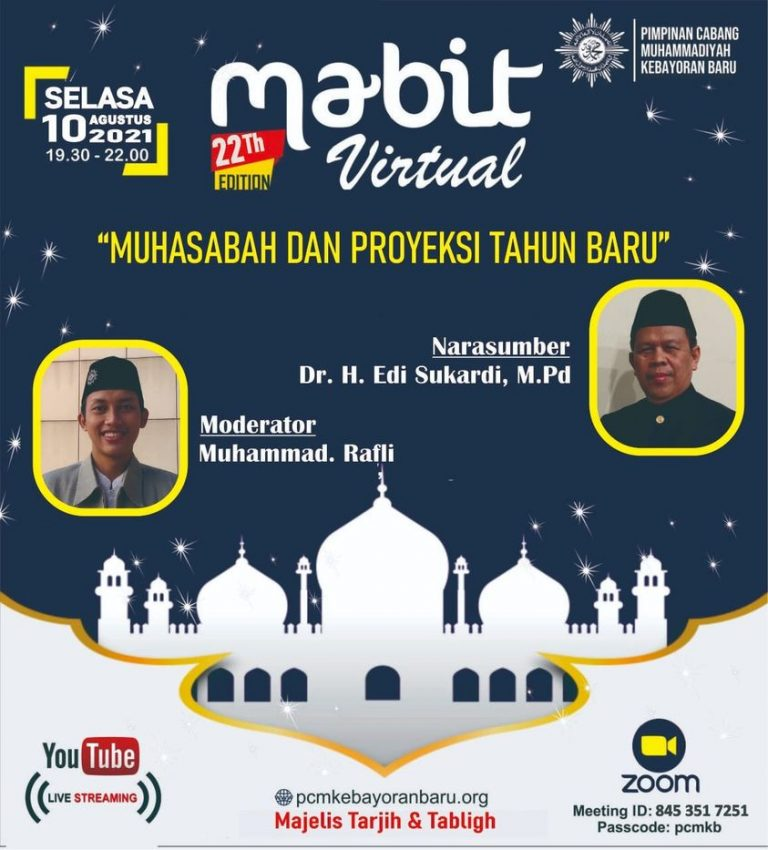 Mabit Virtual Muhammadiyah Kebayoran Baru