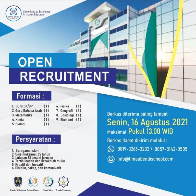 Open Recruitmen